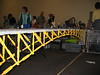 Dual Track Lego Truss Arch Bridge (I'd guess about 10 feet long!)