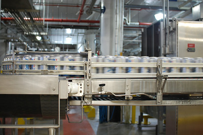 So that's where Natty Light is made! Anheuser-Busch brewery. St. Louis, Mo